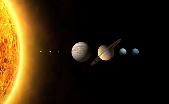 O sol está 400 vezes mais longe da Terra do que da Lua.
