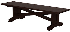 santego dining bench