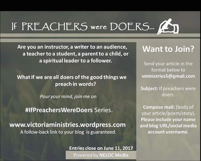 IF PREACHERS WERE DOERS