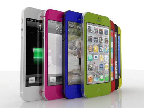 Ngắm bộ vỏ sặc sỡ của iPhone 5 12