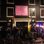 CLUB NYX entrance in Amsterdam in Amsterdam, Noord Holland, Netherlands