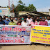 कोरोना वायरस पर पत्रकारों ने निकाली जागरूकता रैली