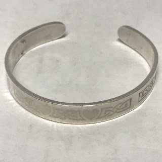 Sterling Silver Irish Cuff