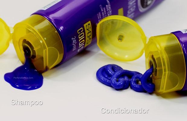 shampoo e condicionador desamarelador sfera nazca