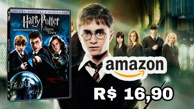 DVD DUPLO: Harry Potter e a Ordem da Fênix por apenas R$ 16,90 na Amazon