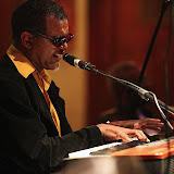 "Renowned pianist and vocalist Clarence Bell, backed up by bassist Edmo Lanier and drummer Don Tucker, presented a great show for the Jan. 2010 Jazz Gumbo. Special guests included vocalist David Washington and flugel/trumpeter Roger Villines. The regular third-Monday ""Jazz Gumbo"" event takes place at Seville Quarter in downtown Pensacola."