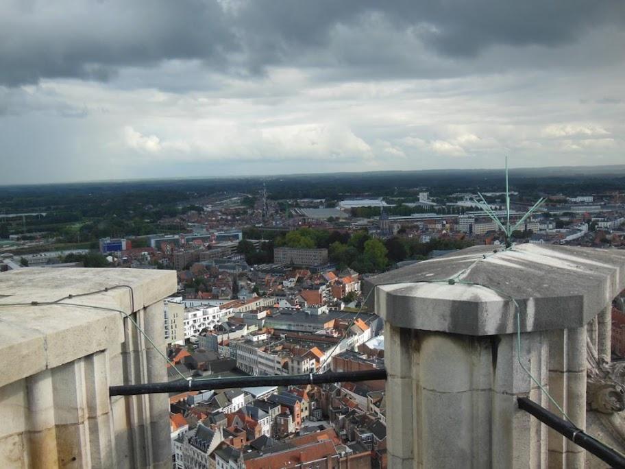 Malinas desde la Torre de San Rumoldo