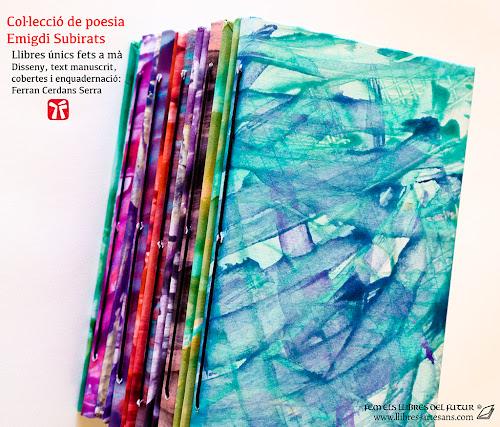 Poemaris d'Emigdi Subirats, manuscrits i fets a mà a Llibres Artesans