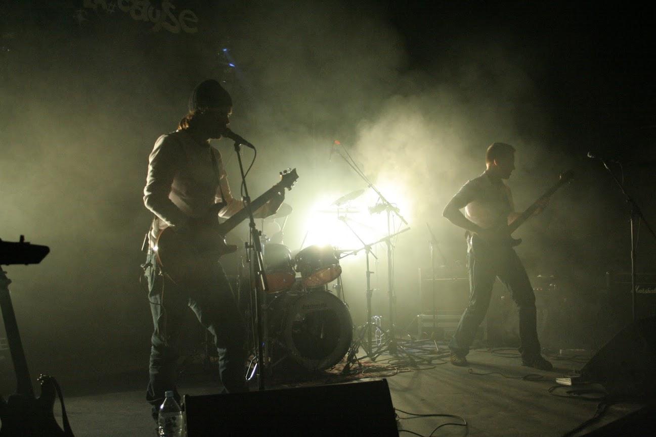 effetto fumo su palcoscenico
