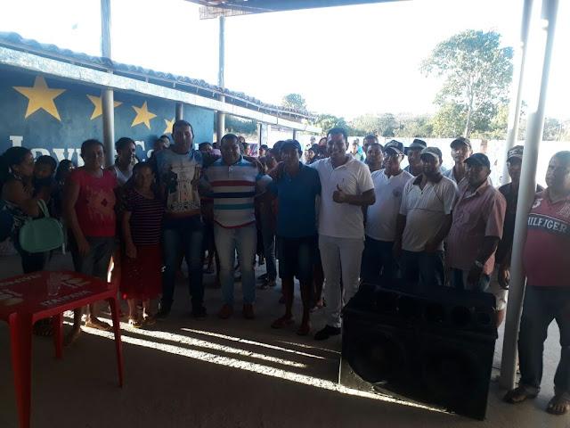 GIVALDO CAVALCANTE E DIRETORES DO STR PARTICIPARAM DE VÁRIAS REUNIÕES NA ZONA RURAL DE BOM CONSELHO