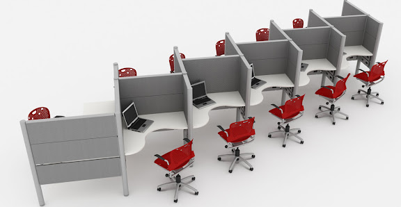 Estaciones call center sigma mobel for Muebles para call center