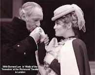 Barb Ewing With Bernard Lee