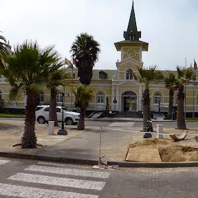 oude treinstation, nu Hotel Swakopmund