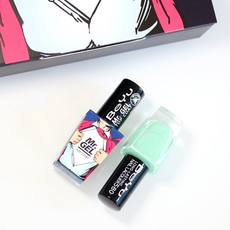 [Review] Beyu–Mr. Gel Top Coat