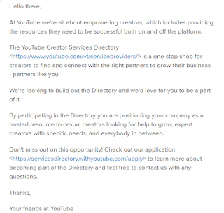 youtube-c...@google.com - is this a valid YouTube support email ...