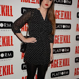 OIC - ENTSIMAGES.COM - Lucy Pinder attend the Age of Kill - VIP film Screening inLondon on the 1st April 2015.Photo Mobis Photos/OIC 0203 174 1069