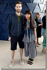 LONDON, ENGLAND - JULY 12: Alex Groves and Azusa Murakami attend the COS celebration of The Serpentine Parks Nights 2017 at The Serpentine Pavilion on July 12, 2017 in London, England.  (Photo by David M Benett/Dave Benett/Getty Images for COS) *** Local Caption *** Alex Groves;Azusa Murakami