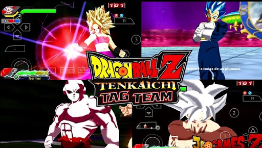 SAIU NOVO DRAGON BALL Z SUPER (MOD) TENKAICHI TAG TEAM PARA CELULARES ANDROID STYLE ANIME +DOWNLOAD