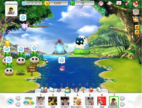 SSGame đưa Vườn Sao lên mạng xã hội Zing Me 1
