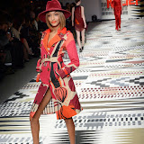 OIC - ENTSIMAGES.COM - Jourdan Dunn at the Fashion For Relief - catwalk show & fundraiser at Somerset House in London 19th February 2015  Photo Mobis Photos/OIC 0203 174 1069