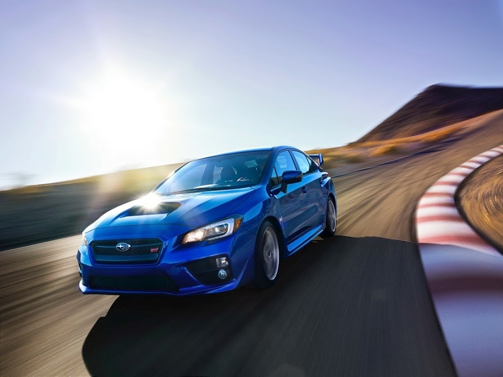 2015 Subaru WRX STI Launch Edition front_2