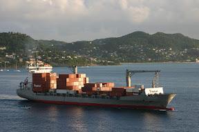 Cargo ship, Grenada