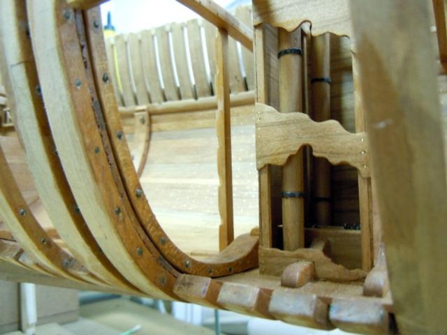 """Modèle du """"Gros-Ventre"""" au 1/36 par Adrian Sorolla GV1106049"""