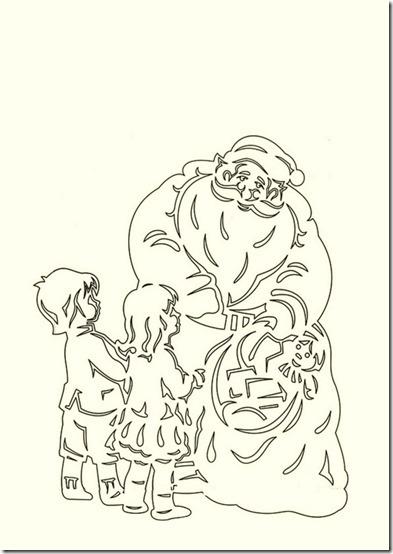 patrones para recortar ventanas navidad  (13)