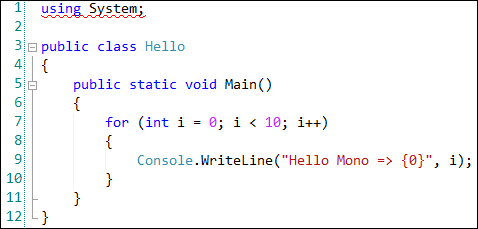 Hello SourceCode
