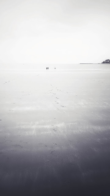 Heavily edited photo of Tahunanui Beach (Nelson, NZ)