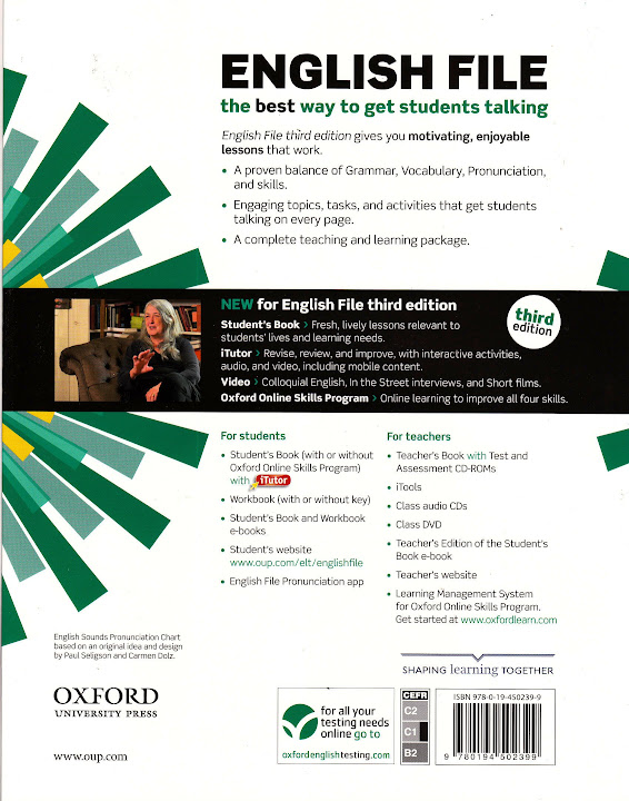 oxford english file advanced third edition student s book w itutor