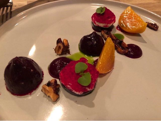 Beetroots and Goats cheese