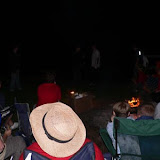 After dark, everyone gathered for campfire