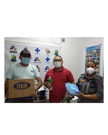 Cuitegi(PB) entrega kit de higienização para taxistas