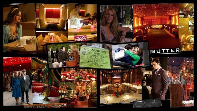 Conheça os restaurantes visitados pelos personagens de Gossip Girl na série original