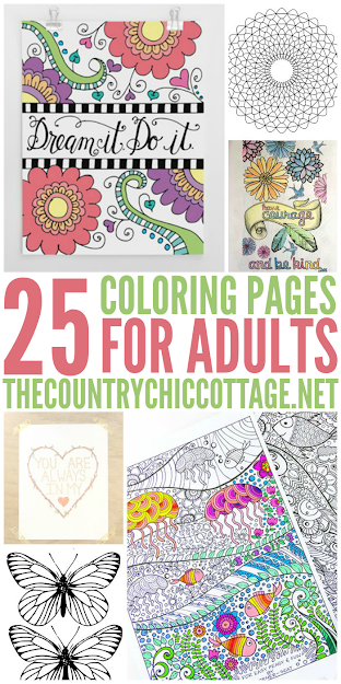 Get  Free Coloring Pages For Adults That You Can Print From Home