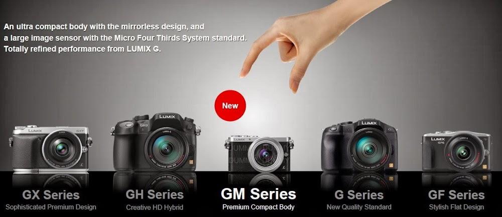 Panasonic Lumix GM1 - L'hybride le plus compact du marché Taille