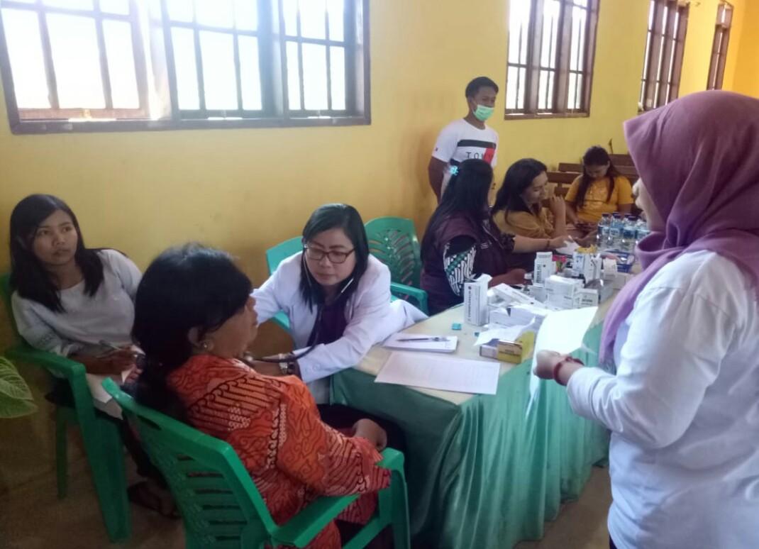 BNNK Tana Toraja Gelar Pengobatan Gratis di Bittuang