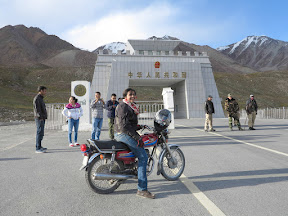 Khunjrab Pass the Pakistan-China border in the North