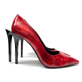 Helmut Lang Double-Stiletto Heels