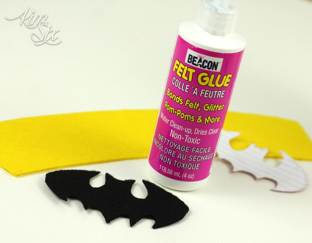 Glue for felt
