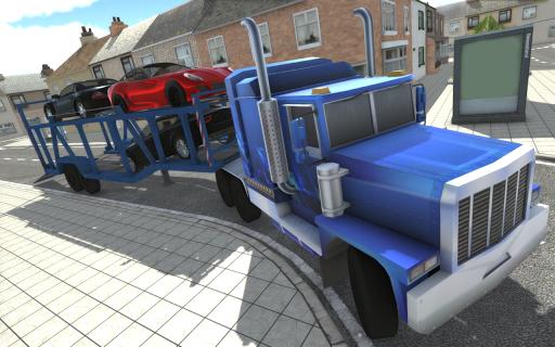 原始停车场和驱动模拟器
