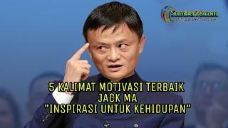 Jack ma motivasi