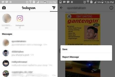 Fitur direct message didalam aplikasi instagram memungkinkan pengguna untuk mengirim pesa 2 Cara Download Foto dan Video DM Instagram di Android