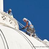 9-28-16 Dome repair