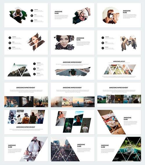 Plantilla de presentación PowerPoint con diseño de extrema calidad