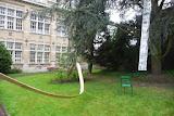 Une partie exterieure de l'installation avec D.TRicot, P.Battus, C.Truche et R.Chechetto