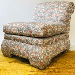 Modern Roll-Back Slipper Chair #1