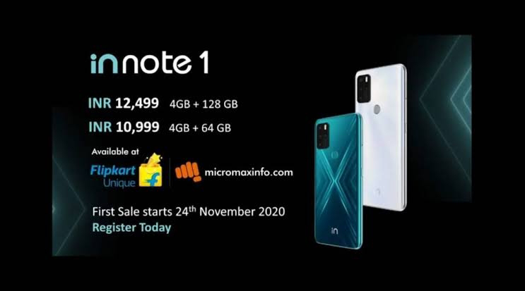 Micromax IN Note 1 & 1b Launched In India !