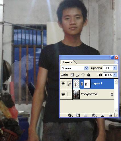 Membuat penampakan hantu dengan photoshop